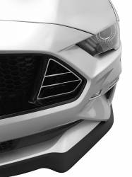 Spoilers - Front - Drake Muscle Cars - 2018+ Mustang GT Only Grille Inserts