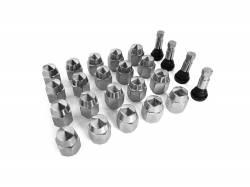 Scott Drake - 1964 - 1973 Mustang Style Steel Rim Lug Nuts, Concours