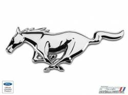 "Grille - Grille Assembly - NXT-GENERATION - 1994-2004 Mustang Running Horse Emblem ""CHROME"""