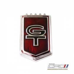 Emblems - Fender - NXT-GENERATION - 1965, 2005-2008 Retrofitted, Mustang GT Fender Emblem
