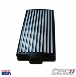 Engine - Engine Compartment Dress-Up - NXT-GENERATION - 2010 - 2014 Finned Fuse Box Cover, Black W/ Gunmetal Fins