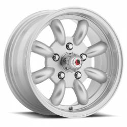 Wheels - 15 Inch - Legendary Wheel Co. - 65 - 73 Mustang LW80 17x8 T/A Style Alloy Rim -Silver Finish
