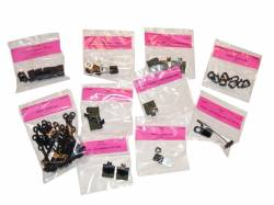 Wire Harnesses - Mounting Hardware - Scott Drake - 65 - 66 Mustang Wiring Clip Master Kit