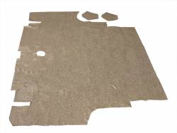 Carpet & Related - Trunk Mats - Scott Drake - 65-66 Mustang Coupe Convertible Trunk Mat (Speckled)