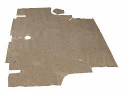Carpet & Related - Trunk Mats - Scott Drake - 67-68 Mustang Coupe Convertible Trunk Mat (Speckled)
