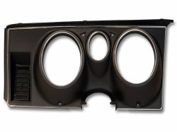 Gauges - Instrument Bezels - Scott Drake - 71-73 Mustang Instrument bezel black