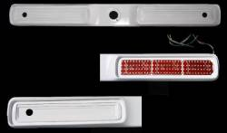 GTRS | MUSTANG PARTS - 65 - 66 Mustang Custom S-Style Tail Panel w/ LED