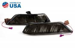 2015-2020 Mustang Parts - 2015-2020 New Products - Diode Dynamics Lighting - 2015 - 2017 Ford Mustang Sequential LED Turn Signals, Smoked Lenses