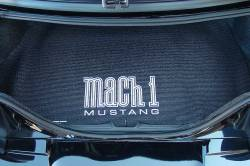 Accessories - Car Care - Fender Gripper - Mustang Fender Gripper Trunk Mat, MACH 1 Logo