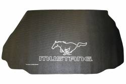 Accessories - Car Care - Fender Gripper - Mustang Fender Gripper Trunk Mat, Running Pony Logo