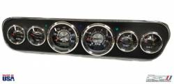 Gauges - Instrument Bezels - California Pony Cars - 1964-1966 Mustang Billet Aluminum Performance Gauge Panel