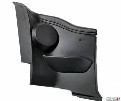California Pony Cars - 1965-1968 Mustang Coupe Interior Quarter Trim Panels With Arm Rest & Speaker Pod