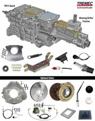 Transmission - Conversion Kits - American Powertrain - 1965 - 1966 Mustang Manual Transmission Tremec TKO 600 Conversion Kit