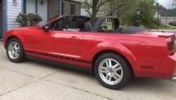 Convertible Top - Styling Bar Kits - Stang-Aholics - 2005 - 14 Mustang Convertible Styling Bar, Charcoal Black