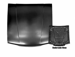 Dynacorn - 87 - 93 Mustang Standard All Steel Hood