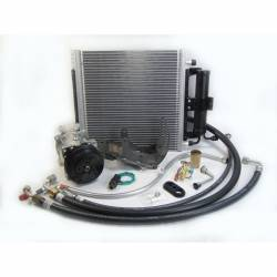A/C & Heating - A/C Systems & Upgrades - Old Air Products - 64 - 65 Mustang Under Hood AC Performance Kit, for 6 Cylinder Engine