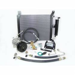 A/C & Heating - A/C Systems & Upgrades - Old Air Products - 1967 - 68 Mustang Under Hood AC Performance Kit, For 289 or 390 Engine