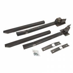 Frame - Rear Frame Rail - Detroit Speed - 79 - 93 Mustang Fox Body DSE Subframe Connector Kit