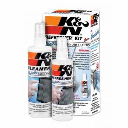 A/C & Heating - Cabin Air Filter - K & N Filters - K&N Interior Cabin Filter Cleaning and Care Kit