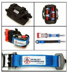 Accessories - Tools - Shelby Performance Parts - Shelby Branded Vehicle Tie Down Kit with Carry Bag