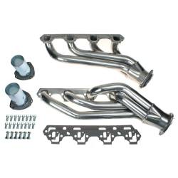 1964-1973 Mustang Parts - 1964-1973 New Products - Patriot Exhaust Products - 64-73 Mustang Patriot Mid Length Exhaust Headers, 289/302, Ceramic