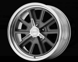 American Racing Wheels - 17X11 Shelby VN427 Rear Wheel, Gun Metal Painted Center, 2 Piece Design