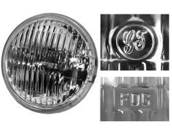 Electrical & Lighting - Fog Lights - Scott Drake - 1965-68 Mustang Fog Lamp Bulb, Clear