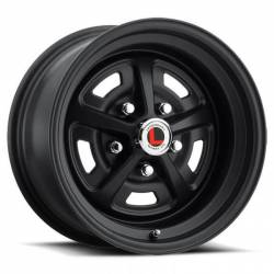 64 - 73 Mustang 15 X 7 Magnum 500 Alloy Wheel, Stealth Black