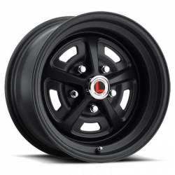 Wheels - 15 Inch - Legendary Wheel Co. - 64 - 73 Mustang 15 X 7 Magnum 500 Alloy Wheel, Stealth Black