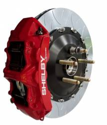 2015-2020 Mustang Parts - 2015-2020 New Products - Shelby Performance Parts - 2015 - 2021 Mustang Shelby Brembo 6-Piston FRONT Brake Kit - RED